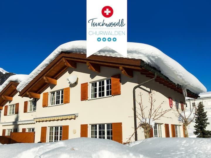 Sunny 8 guests ***** ski chalet (Churwalden)