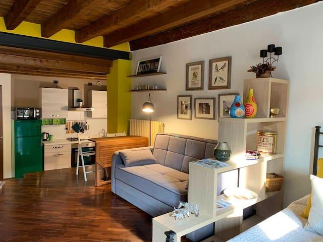 Da Mari2 - adorable studio in the heart of Brescia