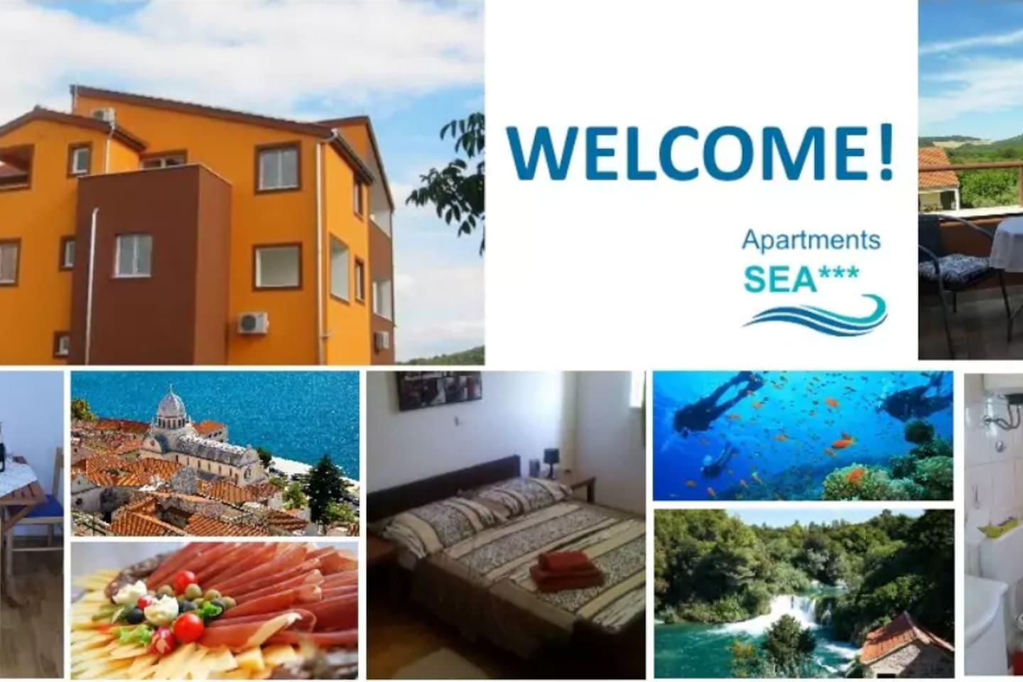 Welcome to Apartments Sea!