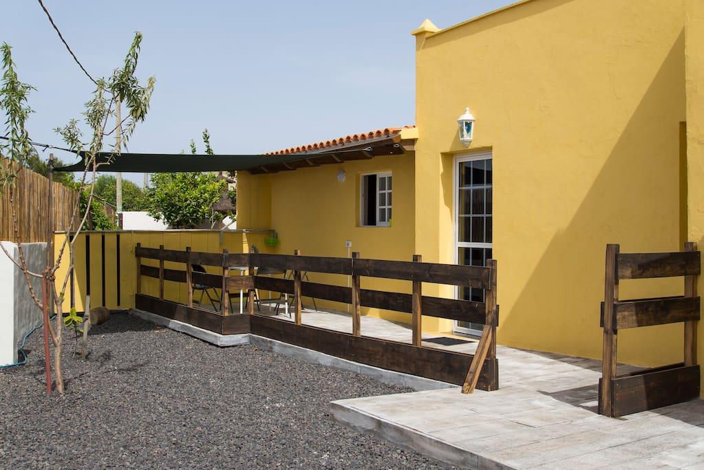 Esterno: terrazza privata