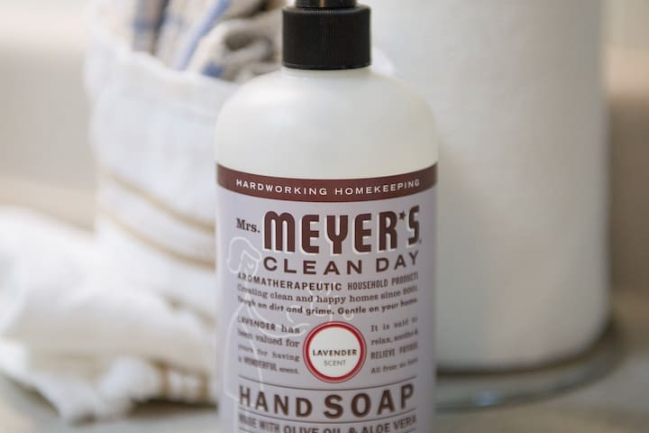 This is our FAVORITE hand soap ever and we are proud to offer it to our guests!