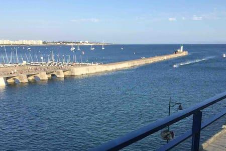 Vue exceptionnelle chenal, baie et plage