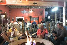 Spear Fish Grille - take a trolley to the marina
