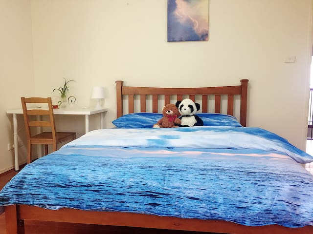 1. Most Spacious bedroom with AC