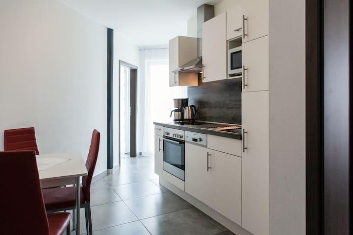3 S-Zimmer Wohnung mit Balkon & Küche&WM
