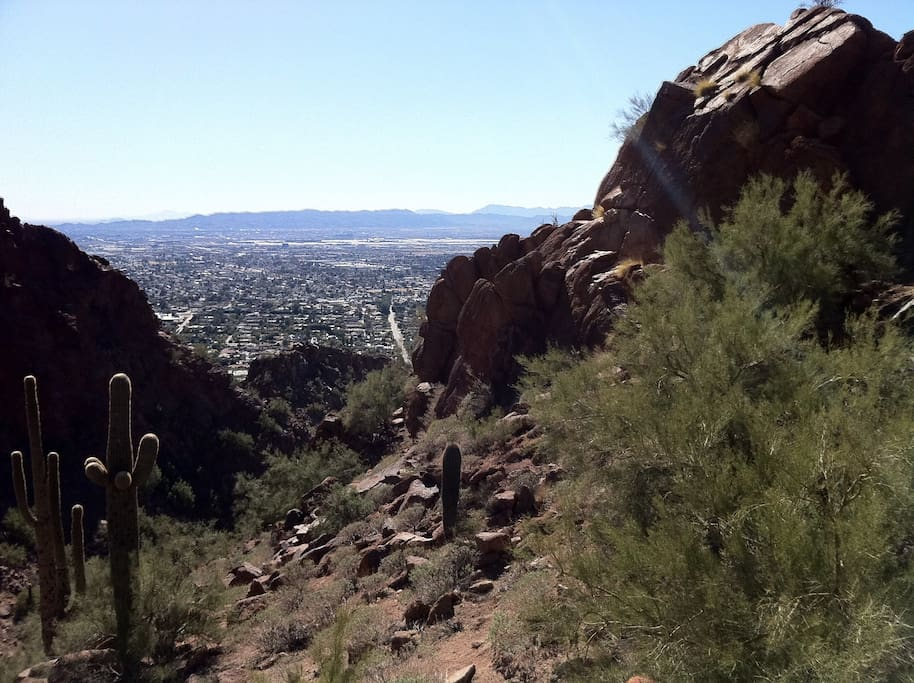 Hiking and Beautiful Views of the valley less than 5 mi.