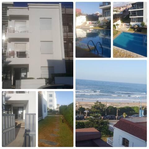 Appart en face de la mer, résidence surveillée - Tamaris - Leilighet