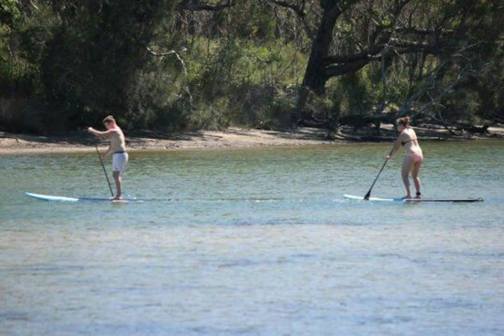 Stand up paddleboarding available closeby
