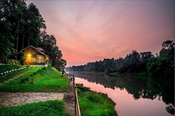 Jhula villa- Private River view villa|Entire place