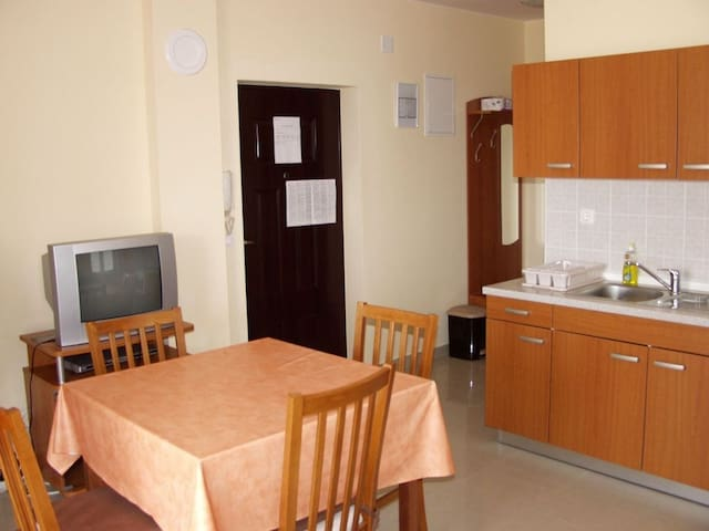 Apartment 100 m from the sea in Novalja for 4 persons