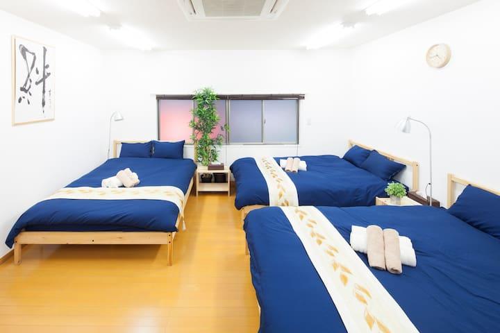Near Tokyo st./Ginza Area! 8 pax OK - Chūō-ku - Apartament