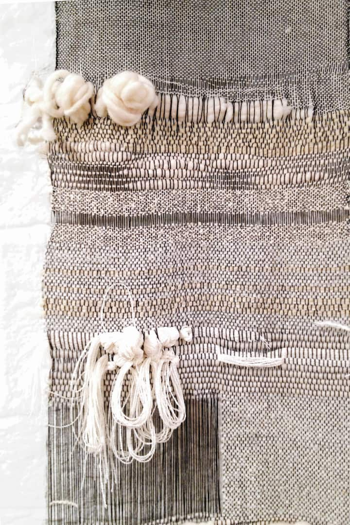 Yarns, roving wool, ribbons, and more!