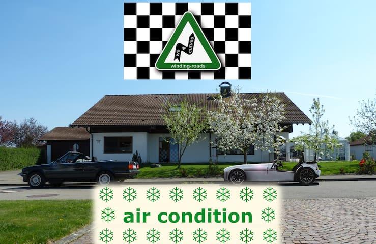 winding-roads B'n'B für Cabrio-, Sportwagen-, Oldtimerfans & Biker