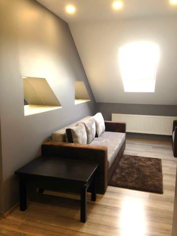 уютная квартира на набережной возле реки Уж центр