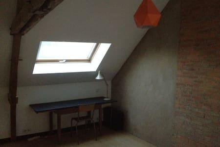 Chambre meublée chez l'habitant au calme - Saulnières - Casa