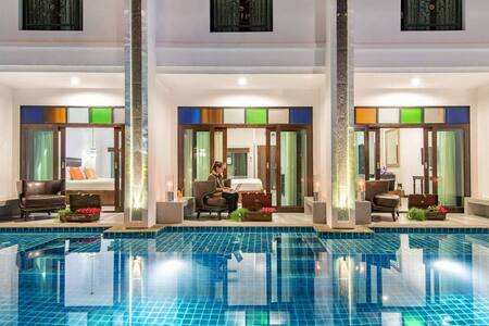 Luxury Deluxe Pool View in Pai - Pai - Boutique-hotel