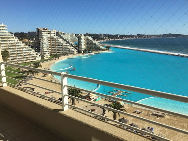 San Alfonso del Mar (biggest pool in the world) - Mirasol - Pis