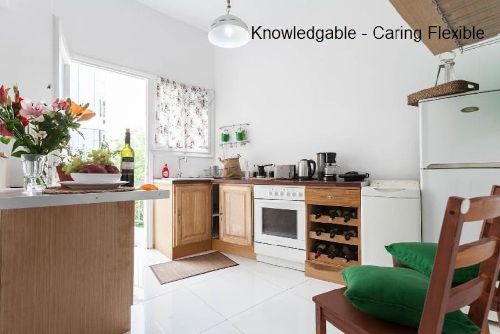 FULLY EQUIPPED KITCHEN  Aristocratic - Chic - Luminous - Sunny - Comfortable - Clean