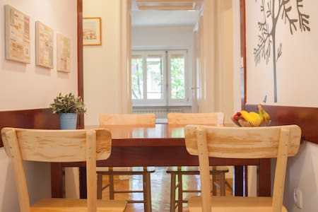 Sunny and Spacious Downtown Flat - Beograd