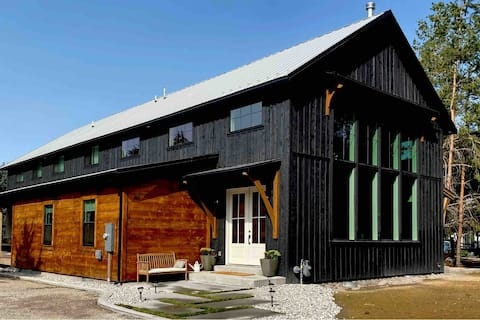 The Family Barn is a new, beautiful home.