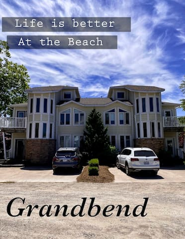 Family Getaway steps away from the Beach