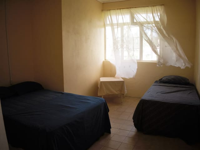 Bedroom 2 can sleep 3, shares a bath with bedroom 3