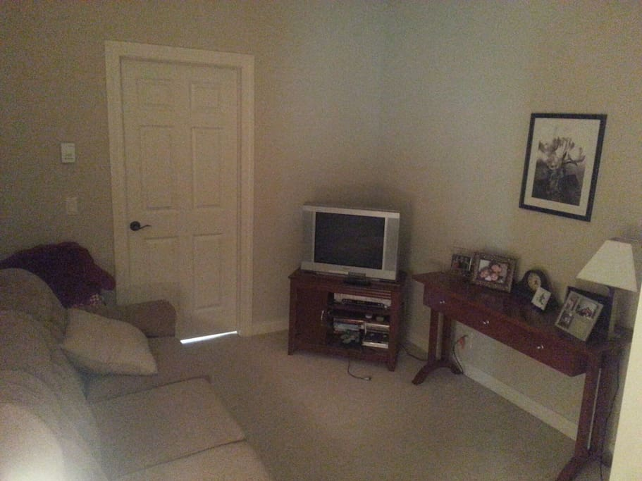 TV room with couch & wiifi