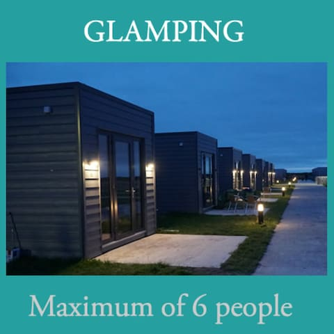 Aran Islands Camping & Glamping - The Tigín Self Catering Glamping Unit (up to 6 people)