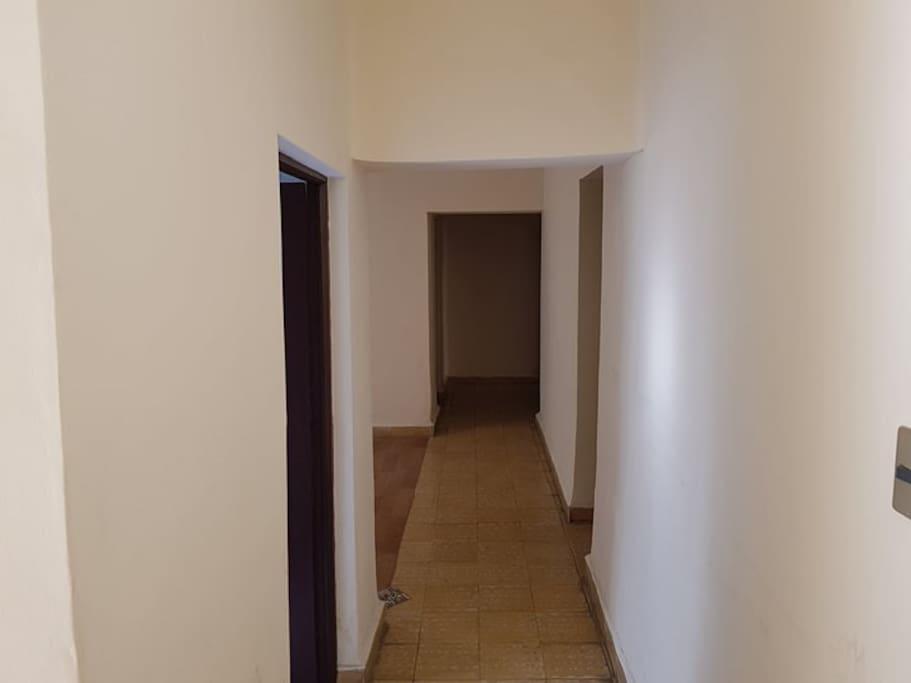 pasillo dormitorios