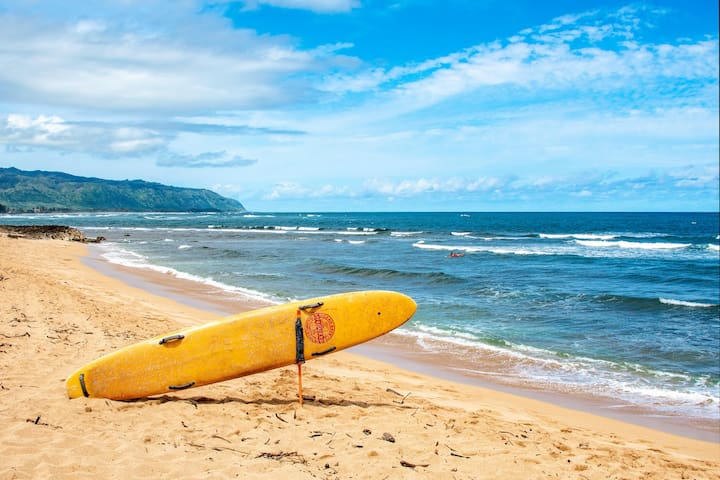 Surfside Hale just steps to Ali'i Beach Park!