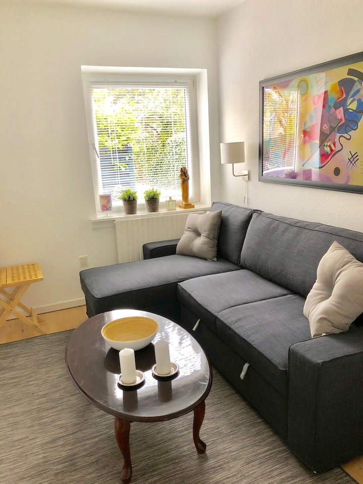 Perfect apt in Copenhagen near airport-metro-beach