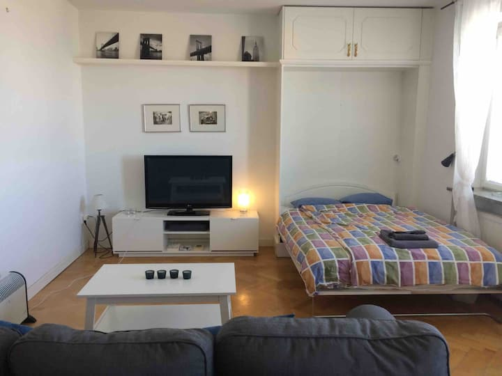 Top Floor Stockholm City apartment with balcony