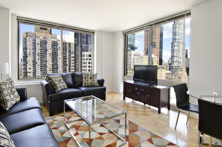 • 54th St & 8th Ave Lincoln Center Area 1 Bed • - Nova York - Pis