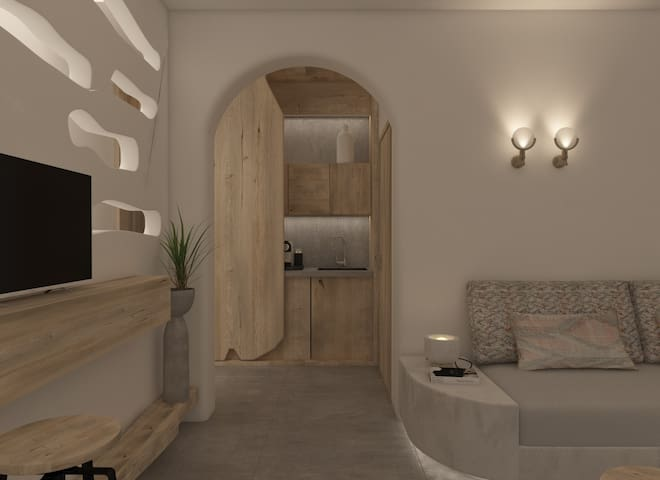 New Private Luxury Suite next to Caldera View No 1