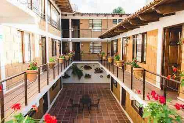 Habitación 2p en hotel Rincon soñado en el centro