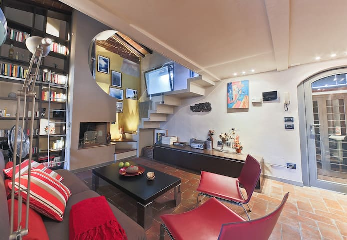 Prestigious Attic flat in the centre of Florence - Florencia - Loft