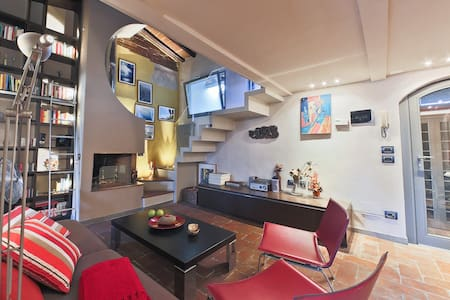 Prestigious Attic flat in the centre of Florence - Florencia