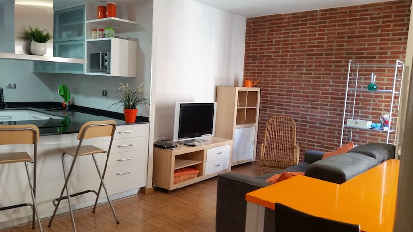Modern and centric flat