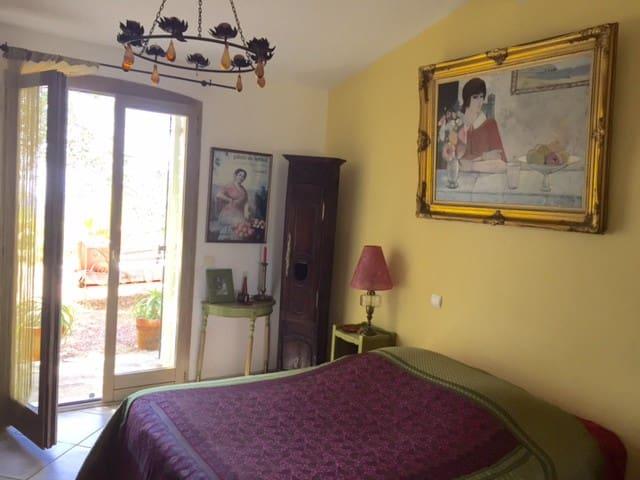 Deux chambres d'hôtes  face aux îles Sanguinaires - Cauro