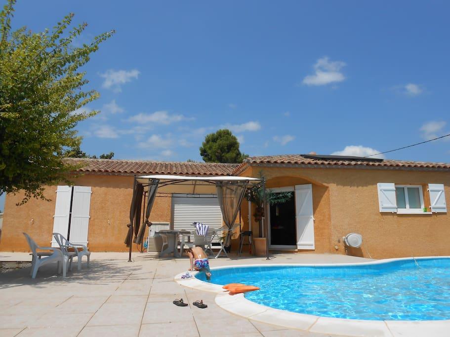 la terrasse piscine