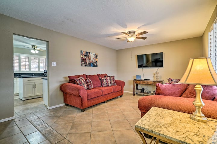 NEW! Quiet Home w/ Patio ~4 Mi to UTEP & Airport!