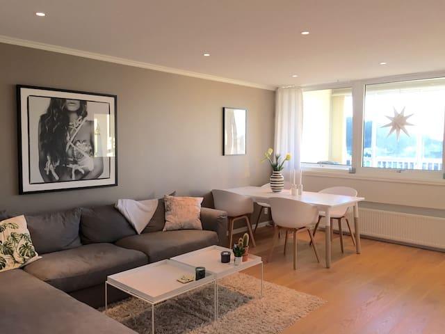 Modern apartment on the 8th floor - Bergen - Byt