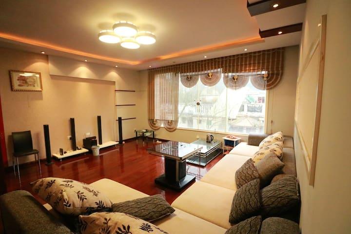 黔灵公园南麓 五居复式 摄影家庭聚会生日出差办公 可住14人 - Guiyang Shi - Apartamento