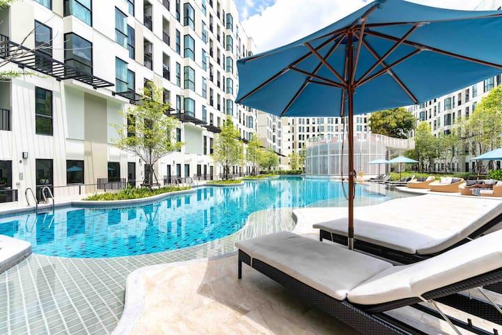 BTS bearing 600米 泳池公寓 免费高速wifi 离新网红三头神象近