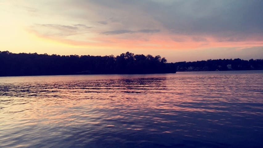 Smith Lake,  A Happy Place near Duncan Bridge