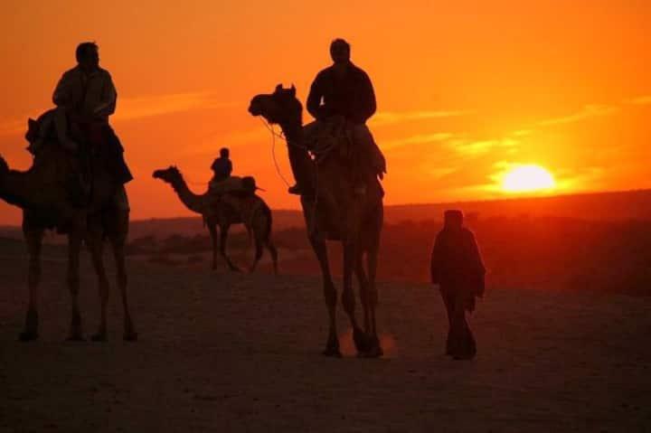 Jaisalmer Khuri Desert Camp