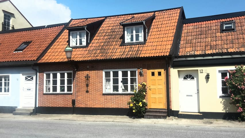 Charming townhouse in Central Ystad