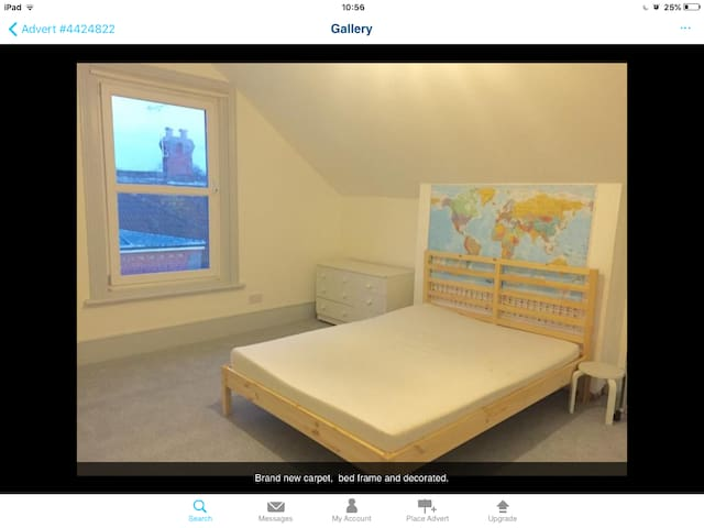 Large double room in family home - Worthing - Daire