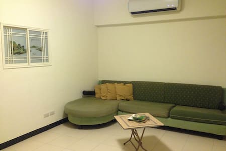 Quiet Comfort in Private Room near Dingxi MRT - Yonghe District - Leilighet