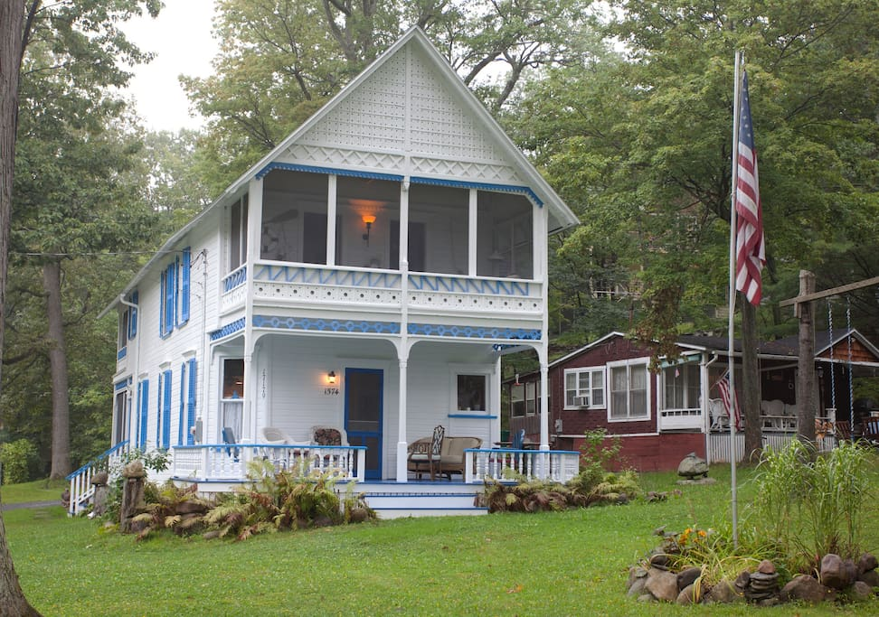 Front of the Cottage